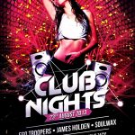 Blank Club Flyer Templates
