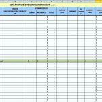 Home Remodel Budget Template Excel