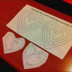 Spiral Heart Pop Up Card Template Free