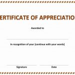 Employee Of The Month Certificate Sample
