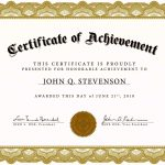 Free Certificate Templates For Word 2010