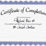 Free Certificates Of Completion