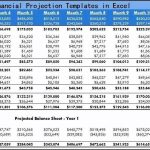 6 Financial Projection Templates