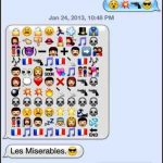 Love Story by Emoji Text