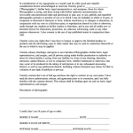 8+ Photographer Release Form Template