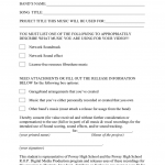 11+ Talent Release Form Template For Video
