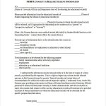 18+ Release Of Information Form Counseling Template