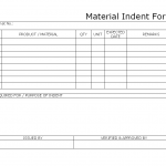 11+ Material Release Form Template