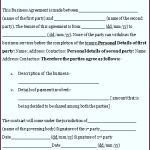 9  Agreement Letter Template