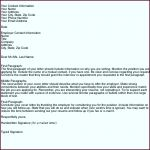 9  Application Cover Letter Template