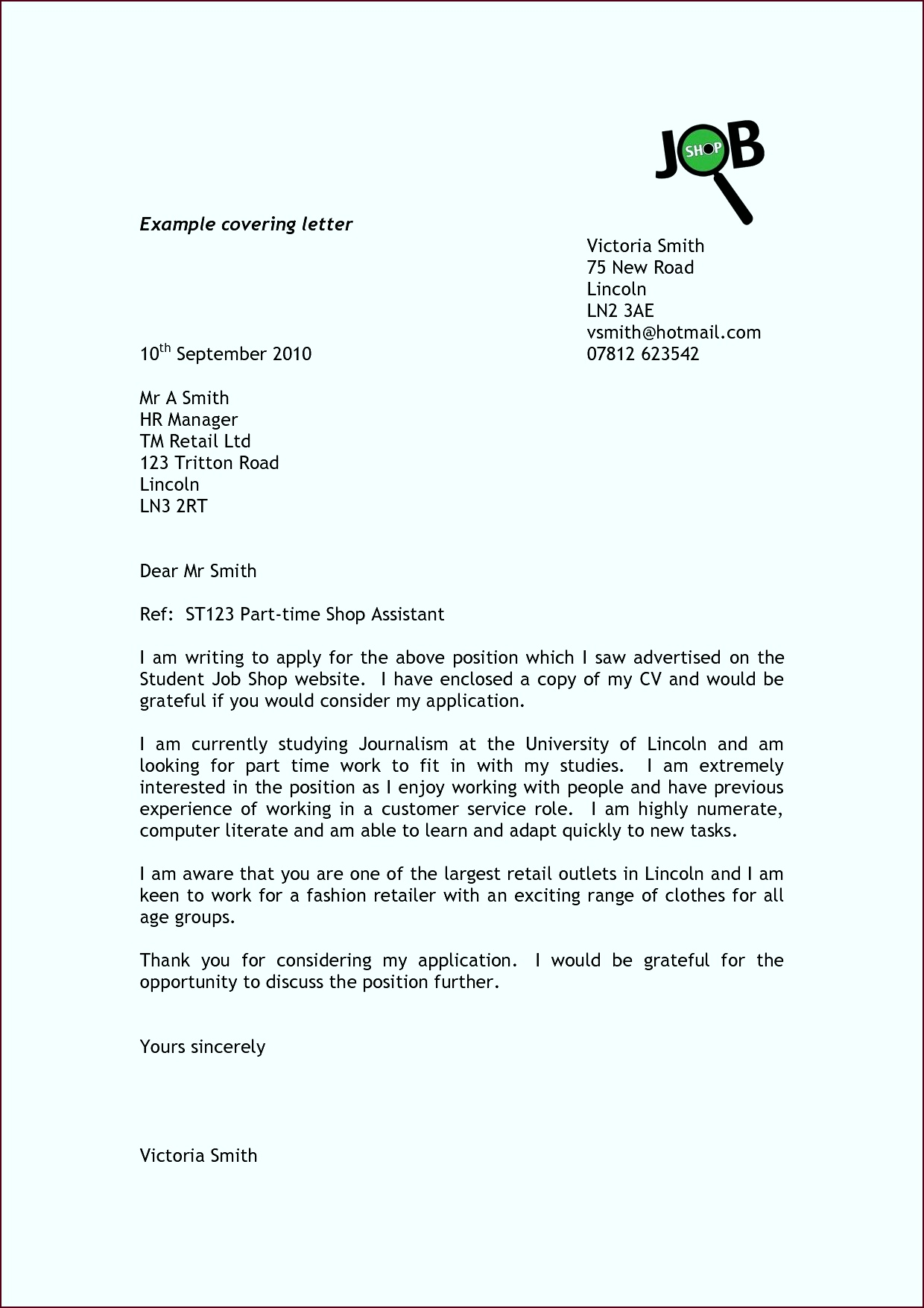 The Letter A Best Example Cover Letter for Resume Inspirational Job Letter 0d Archives ptiau