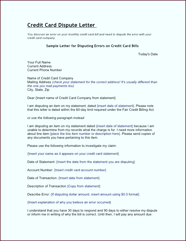 Credit report dispute letter template awesome free credit repair credit report dispute letter template awesome free tyiyr