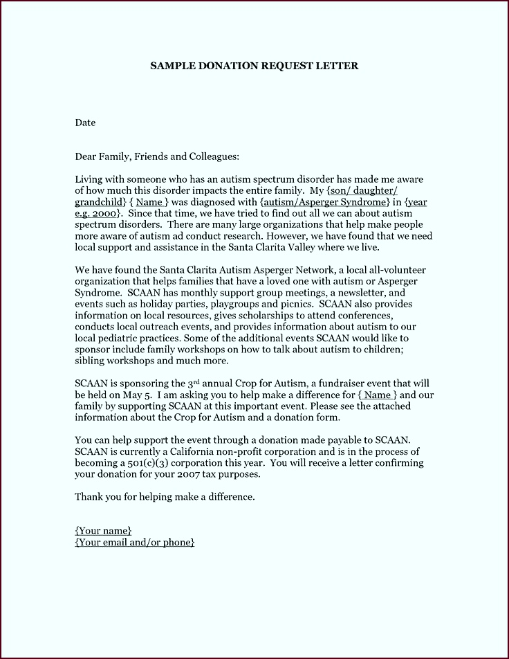 letter donation letters donations cuz fundraising asking for template request sample arxou