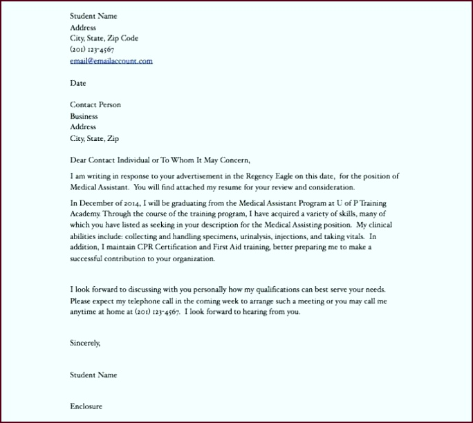 Covering Letter format for Cv New 41 New Cover Letter Examples for Medical assistants 40 whpul