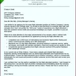 8  Generic Cover Letter Template