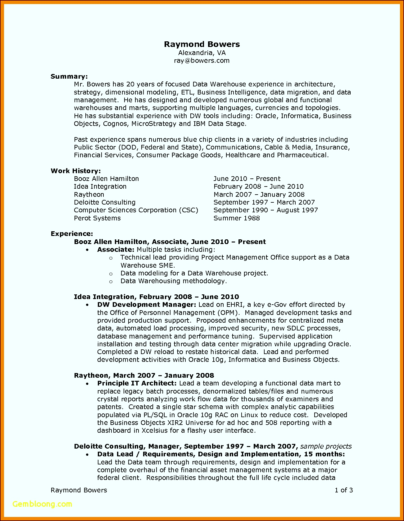 Word 2010 Resume Template Fresh Best Ideas 6 Sample Warehouse Resumes Od Specialist Sample Beautiful Business Letter riewa
