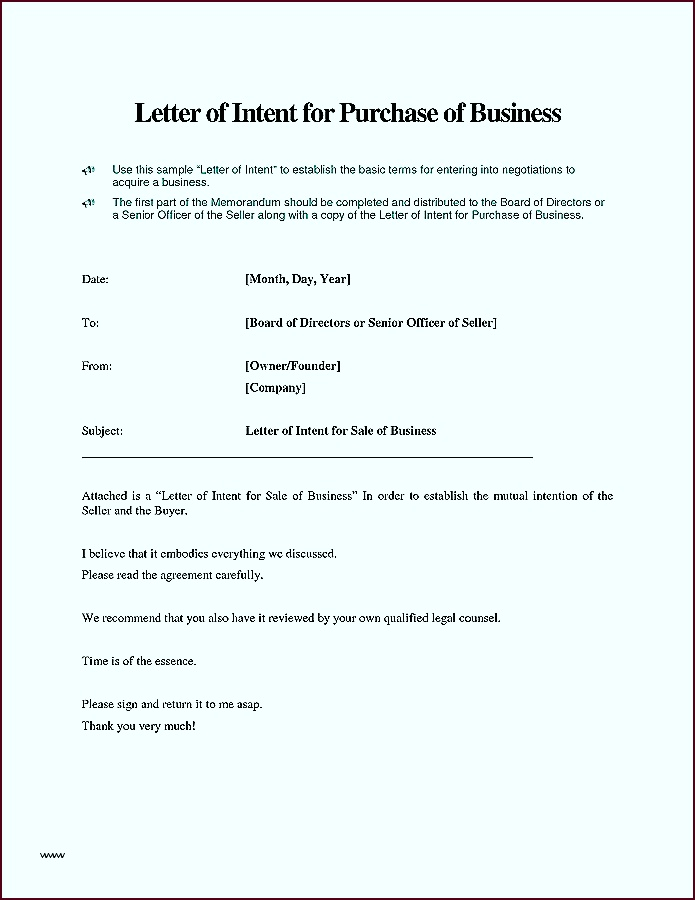 Letter of intent letter of intent for business partnership template letter of intent for business partnership arier