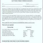6  Letters Of Reference Template