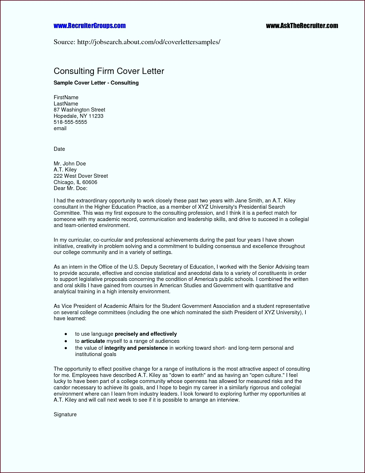 Word Template For Formal Business Letter Copy Sample Formal Business Letter Template Fresh Cover Letter Template wreet