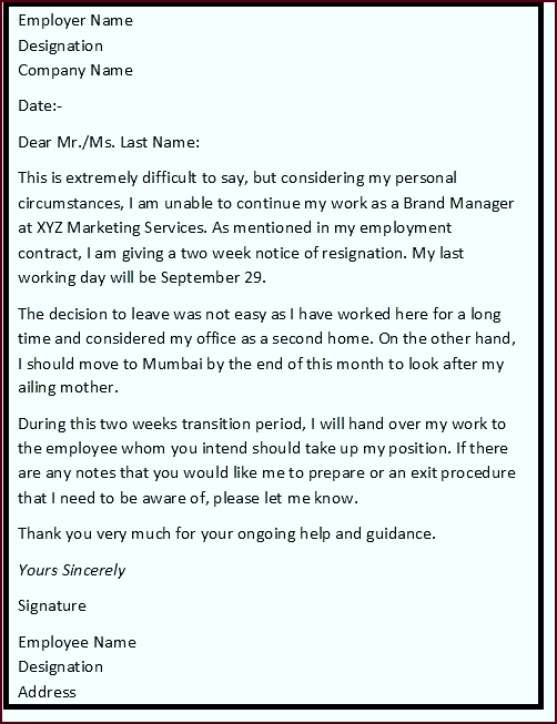 The above job resignation letters give you an idea of the standard formats used in professional yaaoi