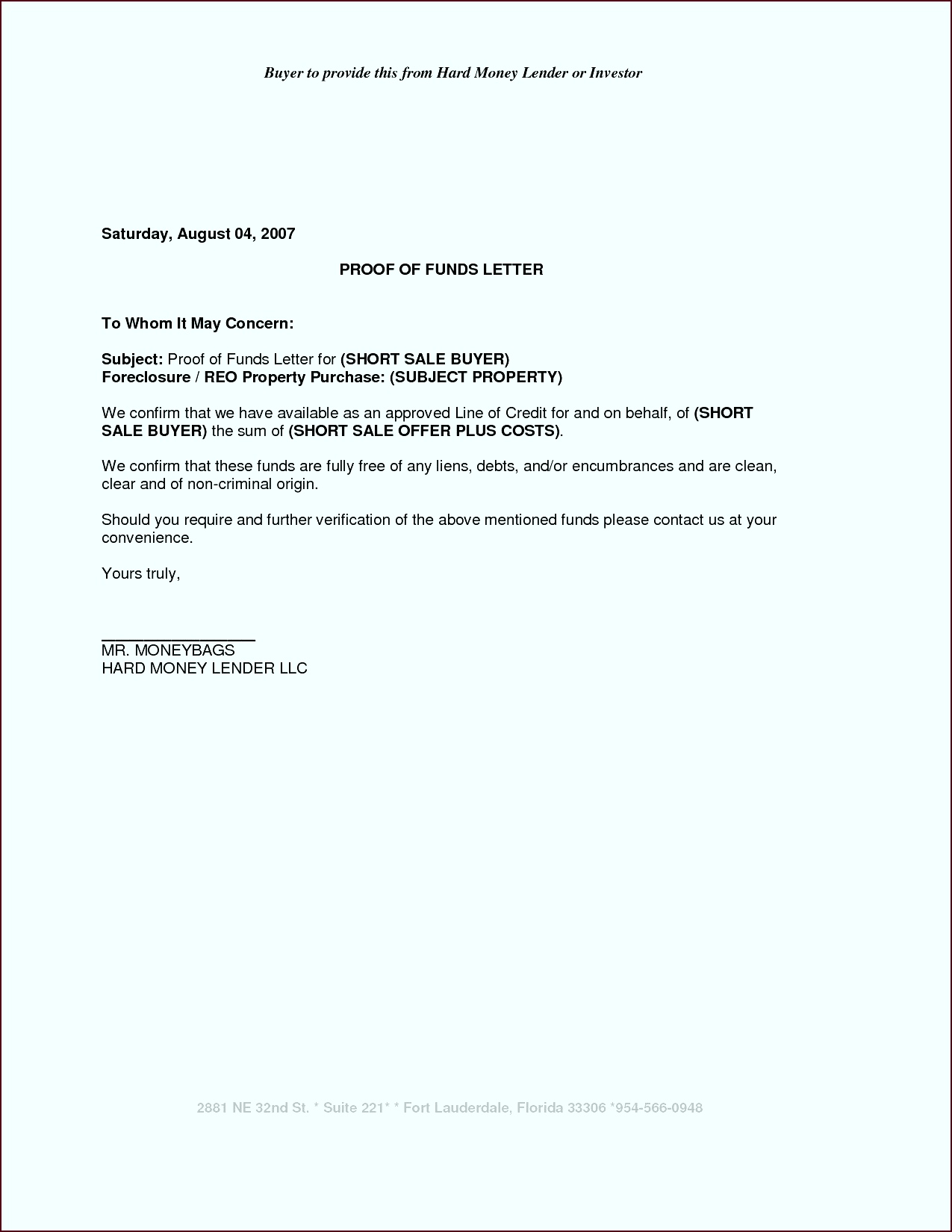 Best Proof Payment Letter How To Format A Cover Letter Con Proof Residency eutet