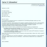 7  Template for Cover Letter
