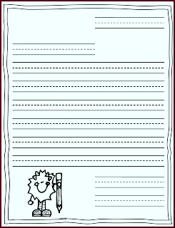 Peterson s Pad Postcards and Letter Writing BLANK letter template rwwoo