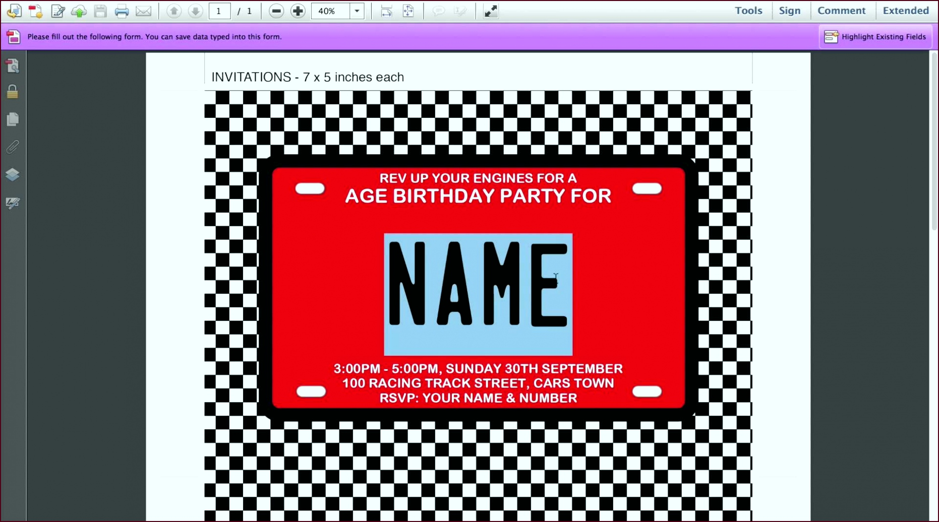 Invitations for Sleepover Party Templates New 15 Awesome 13th Birthday Party Invitation Templates Resume iotwu
