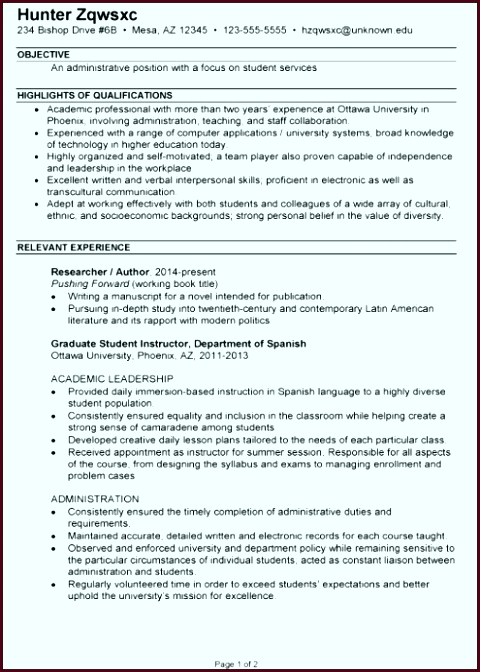 How to Resume Fresh American Resume Sample New Student Resume 0d Job Description Template Luxury Sample yefes