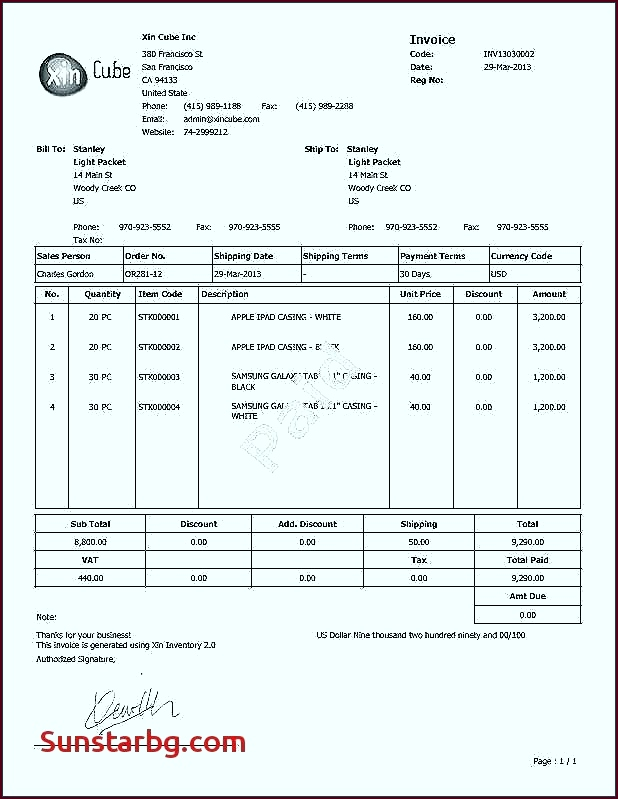 Purchase order Template Word Professional wyfra
