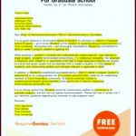 8 Sample Letter for Nursing School Admission