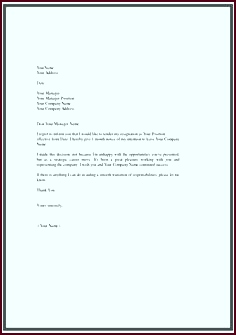 Letter Resignation Template Word Resignation Letter Template 28 Free Word Excel Pdf Documents Sample Teacher Resignation Letter Format Formal ouior