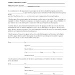 21+ Talent Release Form Template For Film