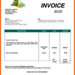 10+ Food Bill Invoice Template