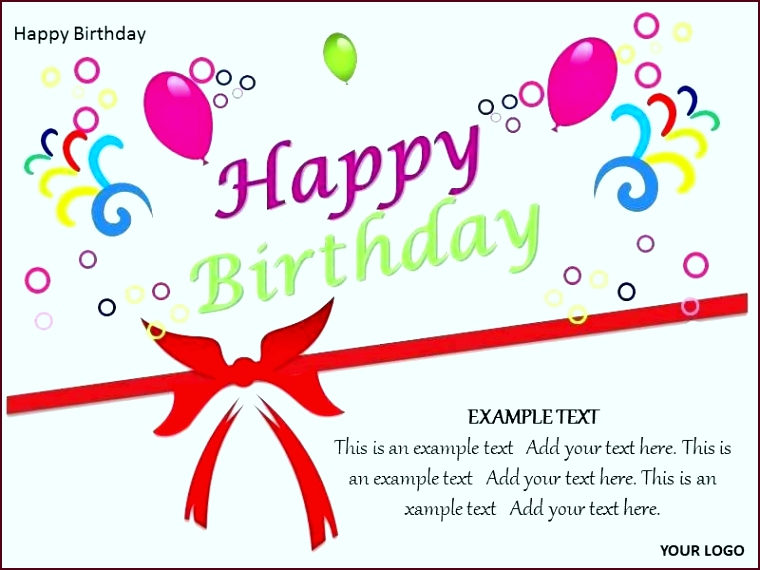 Happy Birthday Banner Template Word Best Card Templates C Header Be wppit
