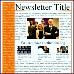 Business Newsletter Templates from MyExcelTemplates ratii