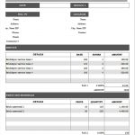 6+ Excel Invoice Template