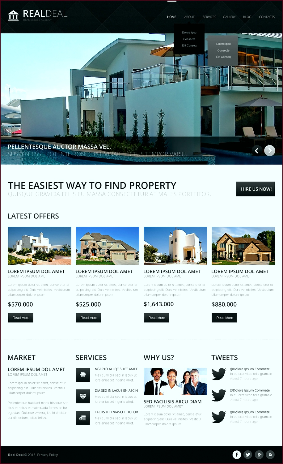 Real Estate Newsletter Templates example yyyet