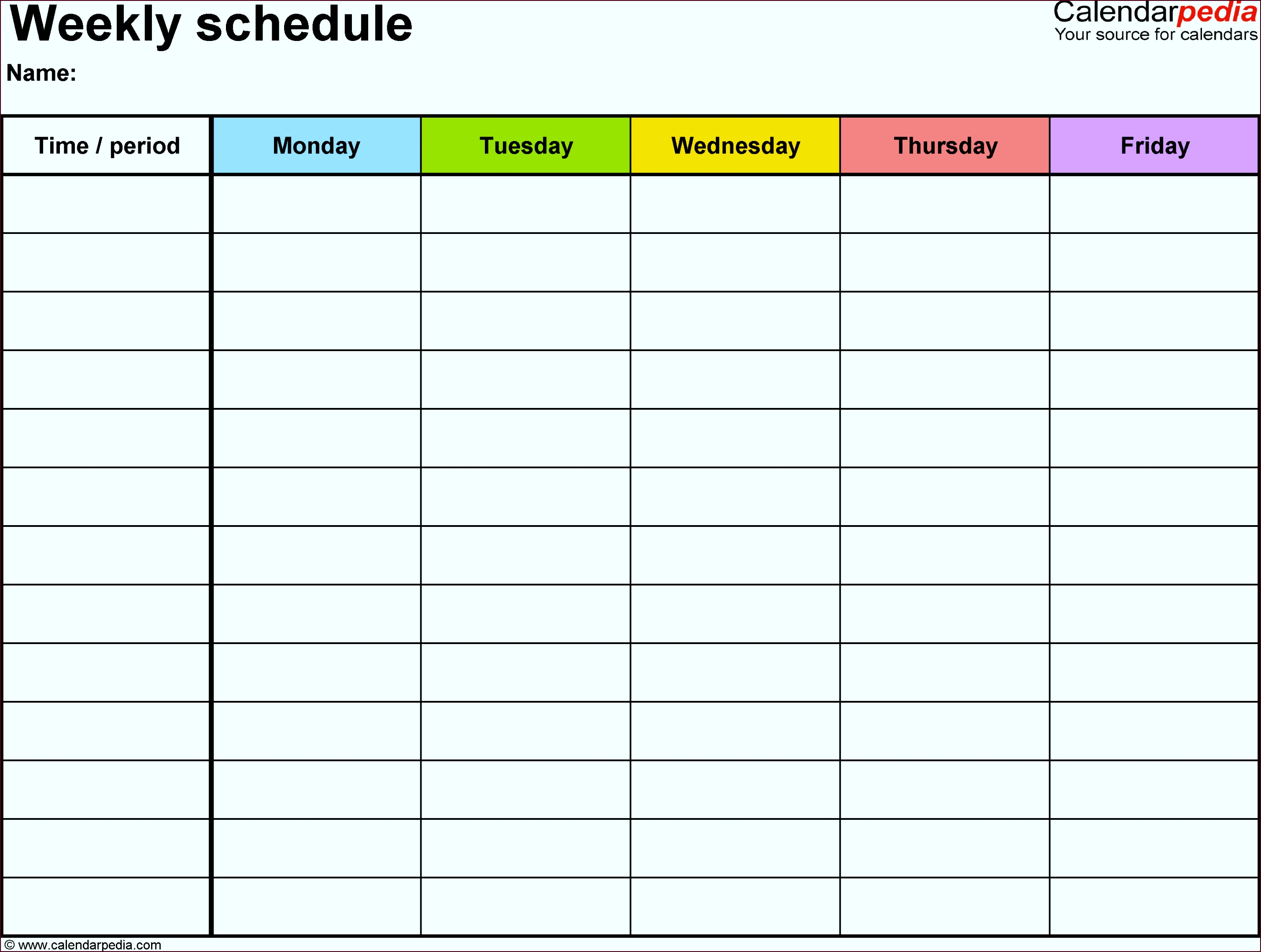 google sheets weekly schedule free weekly schedule templates auhal
