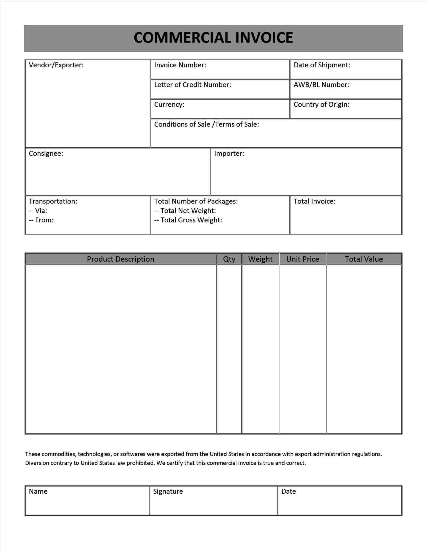 Business Invoice Template 6788910