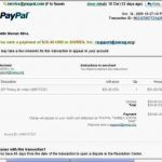 6+ Paypal Invoice Template