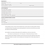 17+ Employee Training Request Form Template