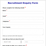 8+ Client Enquiry Form Template