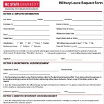 19+ Medical Leave Of Absence Form Template