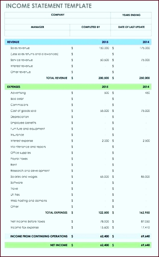 Income Statement Template Kqvjpt Awesome 6 Free In E Statement Templates Word Excel Sheet Monthly Template529855dekz