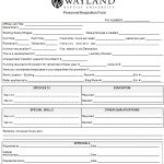 16+ Staff Requisition Form Template