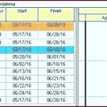 Excel Template Planner