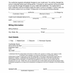 15+ Credit Card Charge Form Template
