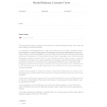 8+ Photography Property Release Form Template