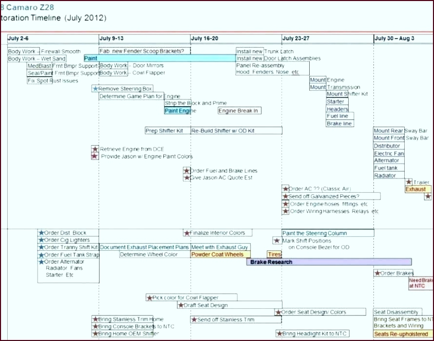 weekly timeline in excel 2010 pivot table insert project template calendar fresh plan templa yeyty